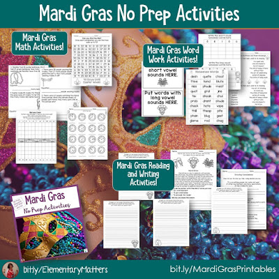 https://www.teacherspayteachers.com/Product/Mardi-Gras-Activities-for-Literacy-and-Math-1118318?utm_source=blog%20post&utm_campaign=Mardi%20Gras