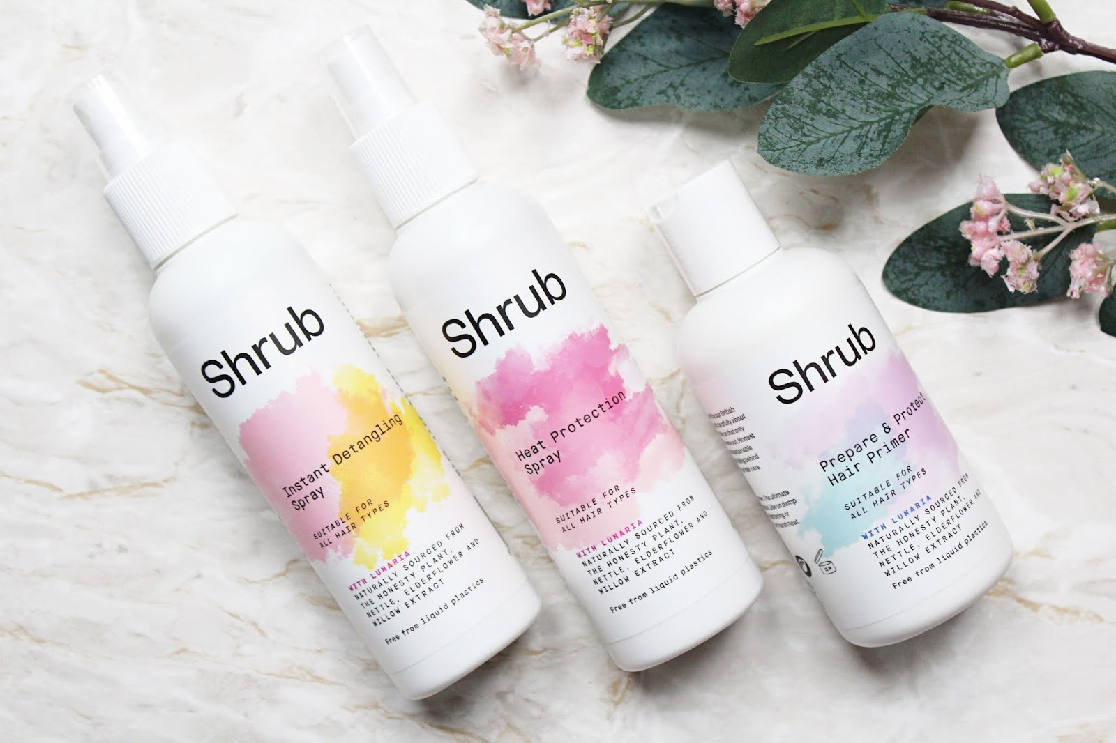 Shrub Hair Care Favourites