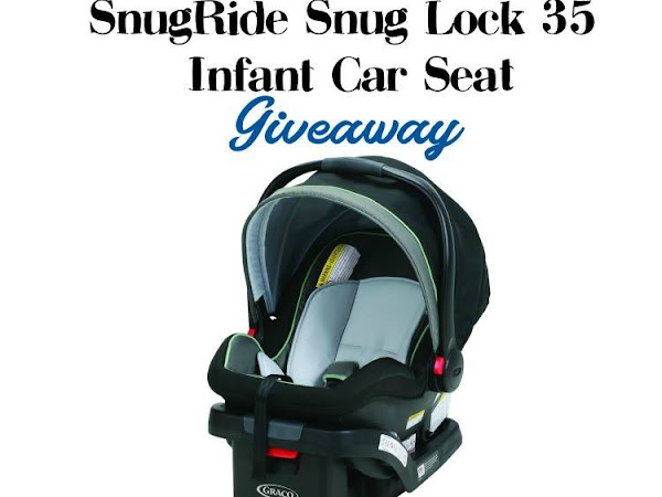 GRACO SnugRide Snug Lock 35 Infant Car Seat #Giveaway
