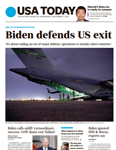 USA Today Magazine 1 September 2021