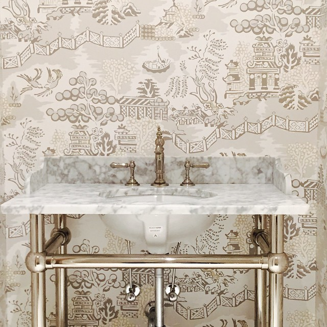 Thibaut Fabrics And Wallpapers: Aesthetic Oiseau: Thibaut Luzon Wallpaper