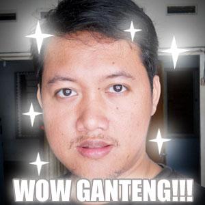 WOW ndop Ganteng