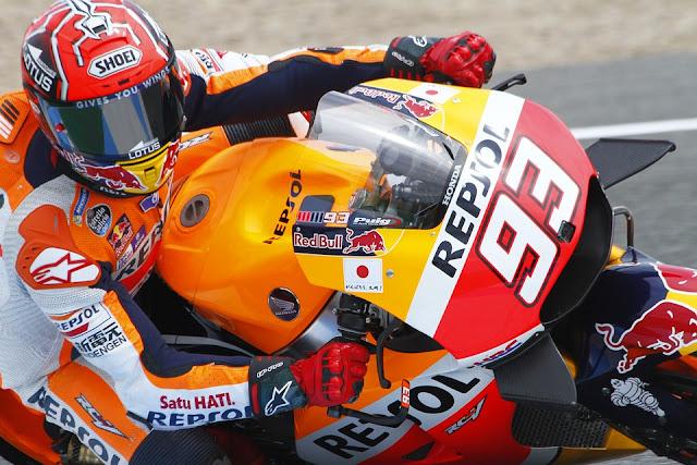 Marc Marquez menang motoGp Australia