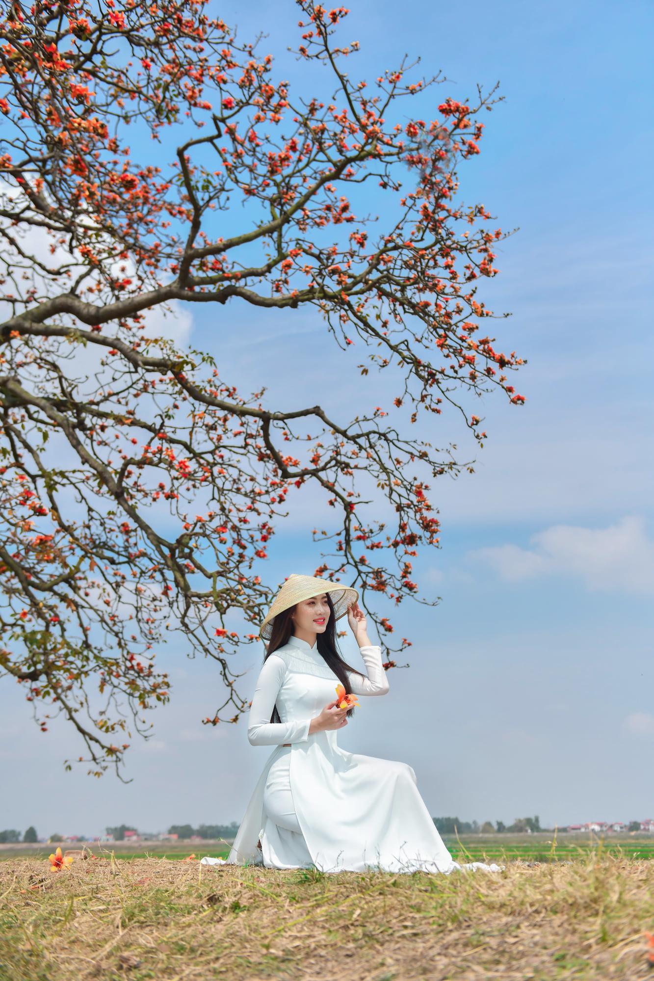 Tuyển tập girl xinh gái đẹp Việt Nam mặc áo dài đẹp mê hồn #57 - 26