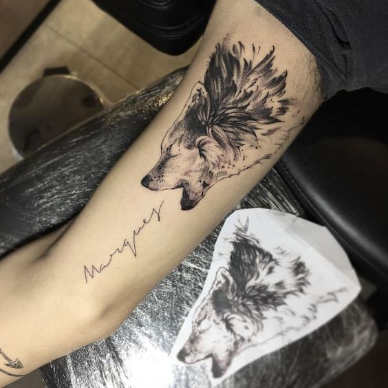 21 Fabulous Wolf Tattoos Designs & Meanings