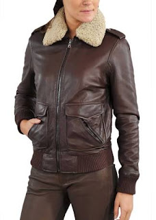 Gambar Bomber Leather Jacket