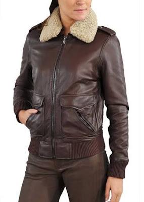 Gambar Bomber Leather Jacket