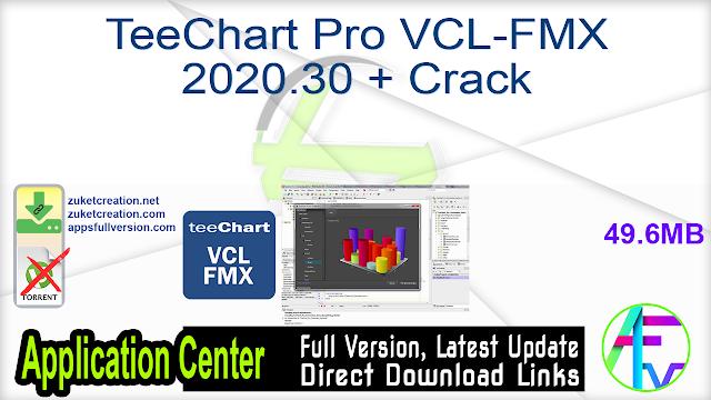 TeeChart Pro VCL-FMX 2020.30 + Crack