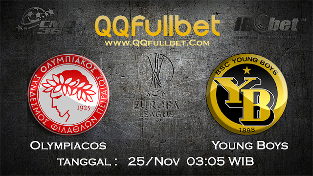 PREDIKSIBOLA - Prediksi Taruhan Bola Olympiacos vs Young Boys 25 November 2016 (UEFA Europa League)