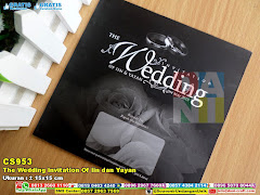 The Wedding Invitation Of Iin Dan Yayan