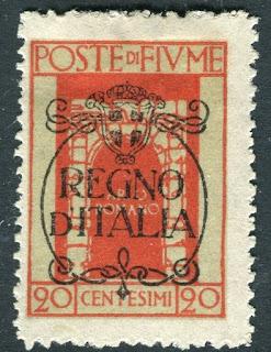 Fiume St, Vitus Regno D'italia  20 cent