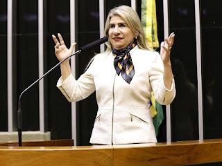 Derrotada como candidata a vice, deputada cancela emenda de R$ 3 milhões que viria para Monteiro