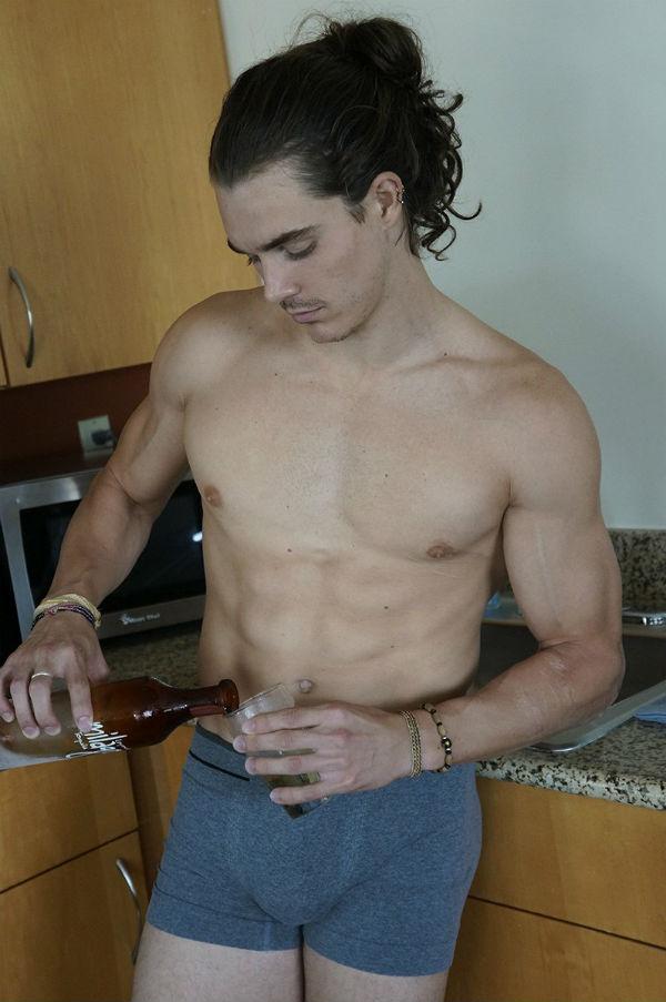 Sexy Long Hair Kyle Gorsuch