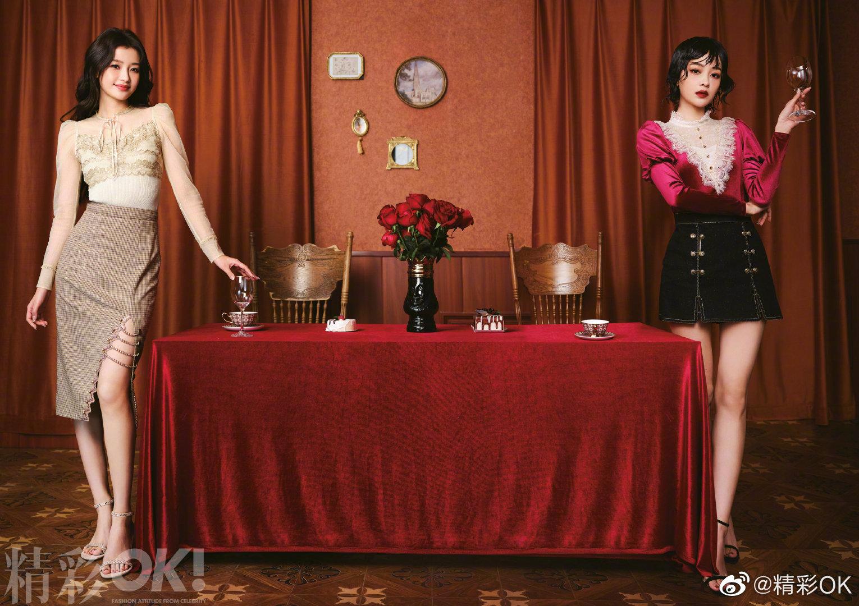 , Sun Yi poses for photo shoot