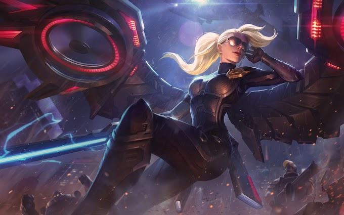 Riot Kayle League of Legends Wallpaper
