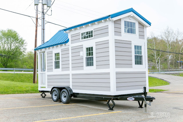 Blue Shonsie Tiny House by 84 Lumber