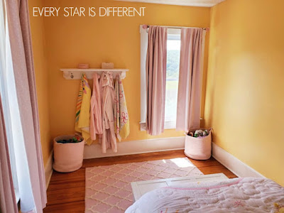 A Minimalist Montessori Girl's Room: Storage