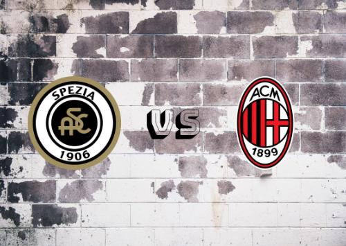 Spezia vs Milan  Resumen y Partido Completo