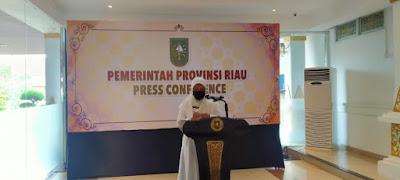 Update Covid-19 Riau, 570 Positif 15 Meninggal Dunia