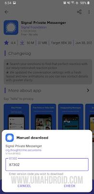 Manual Download APK Google Play Store