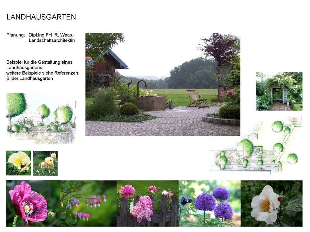 Gartenblog zu gartenplanung gartendesign und gartengestaltung landhausgarten cottage garden - Gartengestaltung bauernhof ...