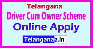 How to Apply Driver Cum Owner Scheme Telangana Online Apply