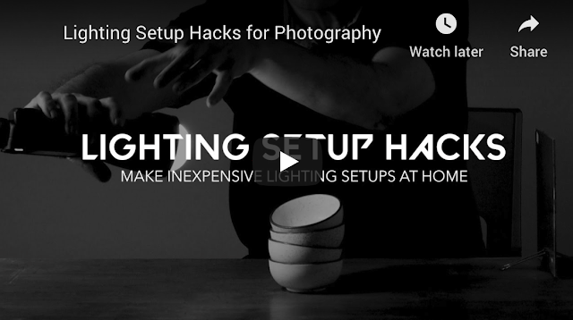 Recently we have been focussing a lot on Photography related tutorials, and lighting is one of the most important aspect for clicking some stunning photographs. Here is an old blog, if you want to understand basics of lighting, it's quality, direction and other factors which impact final outcome. Recently we came across this video by Ravi Dhingra where he is explaining some hacks to setup interesting lighting at home for photography. And he is using some very basic stuff for that which is usually available at home. So without any wait, check out this video and thank me later for bringing this useful video for you :)