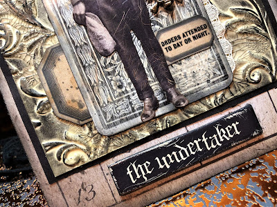 Sara Emily Barker https://sarascloset1.blogspot.com/2018/10/the-undertaker-and-little-giveaway.html Halloween Card with Tim Holtz Giveaway 5
