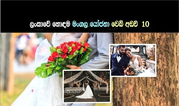 Sri Lankan Top 10 Marriage Proposal Sites- Brides and Grooms