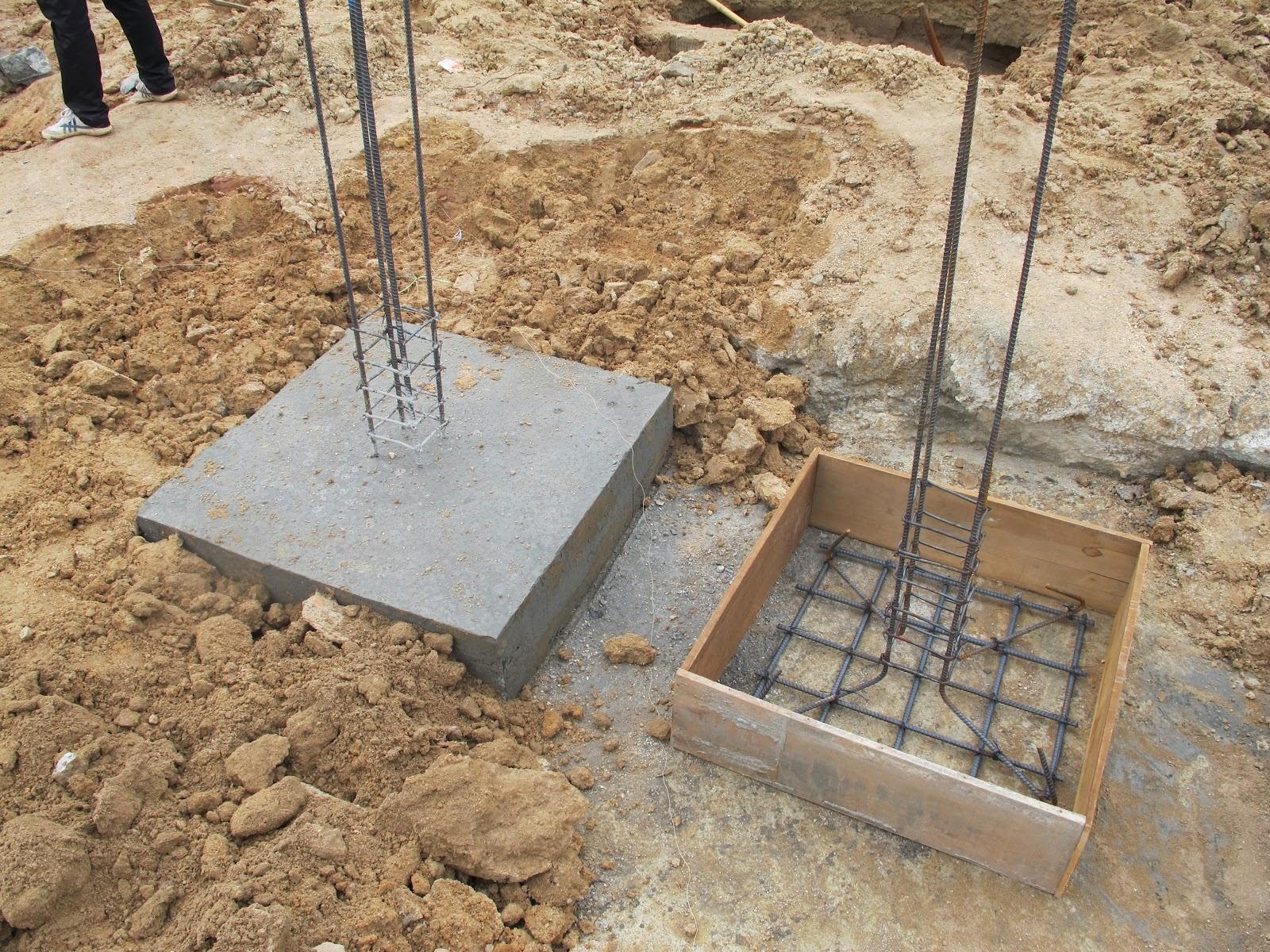 Concrete Pillar Foundations