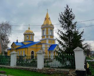 Бобринець. Вул. Миколаївська. Свято-Миколаївська церква