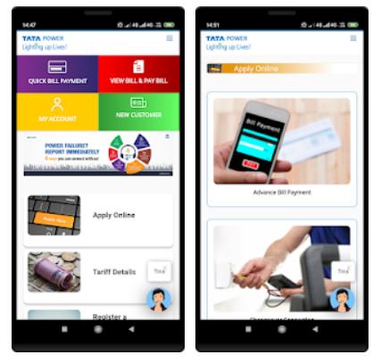 Download & Install Tata Power Mumbai Mobile App