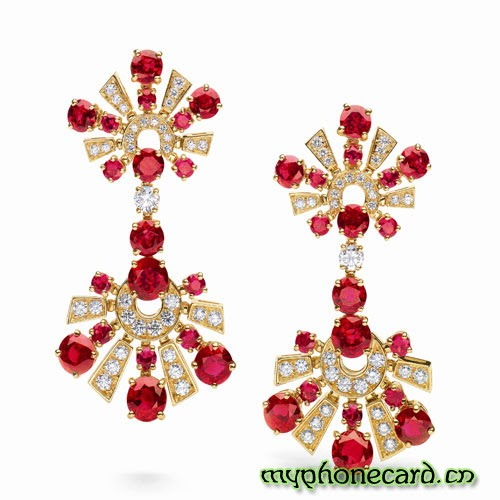 Jewelry Trends: Bvlgari High jewelry earrings
