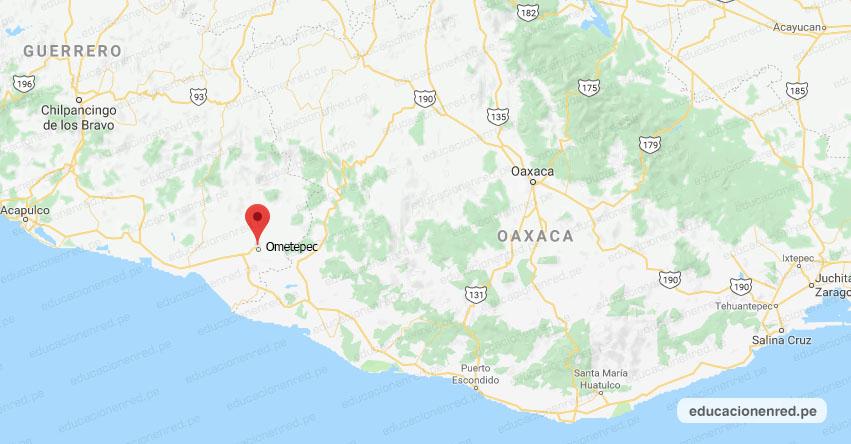 Temblor en México de Magnitud 5.2 (Hoy Domingo 29 Marzo 2020) Terremoto - Sismo - Epicentro - Ometepec - Guerrero - GRO. - SSN - www.ssn.unam.mx