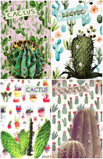 LAMINAS SERIE CACTUS COLLAGE