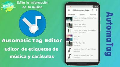 Automatic Tag Editor Edita Tus Etiquetas y Caratulas