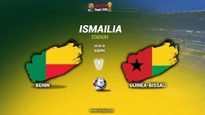 مشاهدة مباراة بنين وغينيا بيساو بث مباشر اليوم 29-6-2019 في كأس الأمم الإفريقية 2019