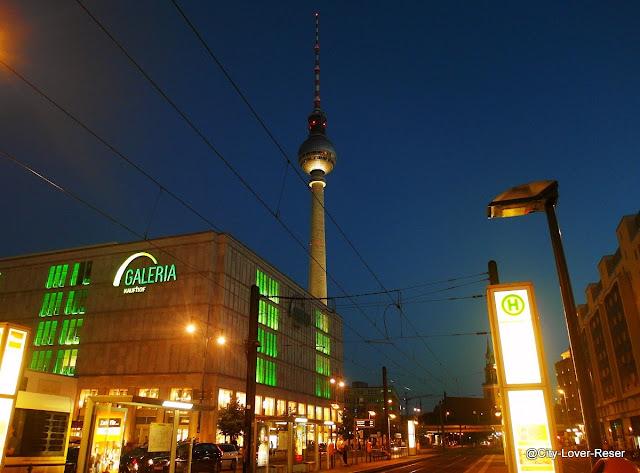 Berlin - bus nr 100 stopp Alexanderplatz