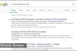 Begini Cara Mudah Download dari Youtube Menggunakan Converter