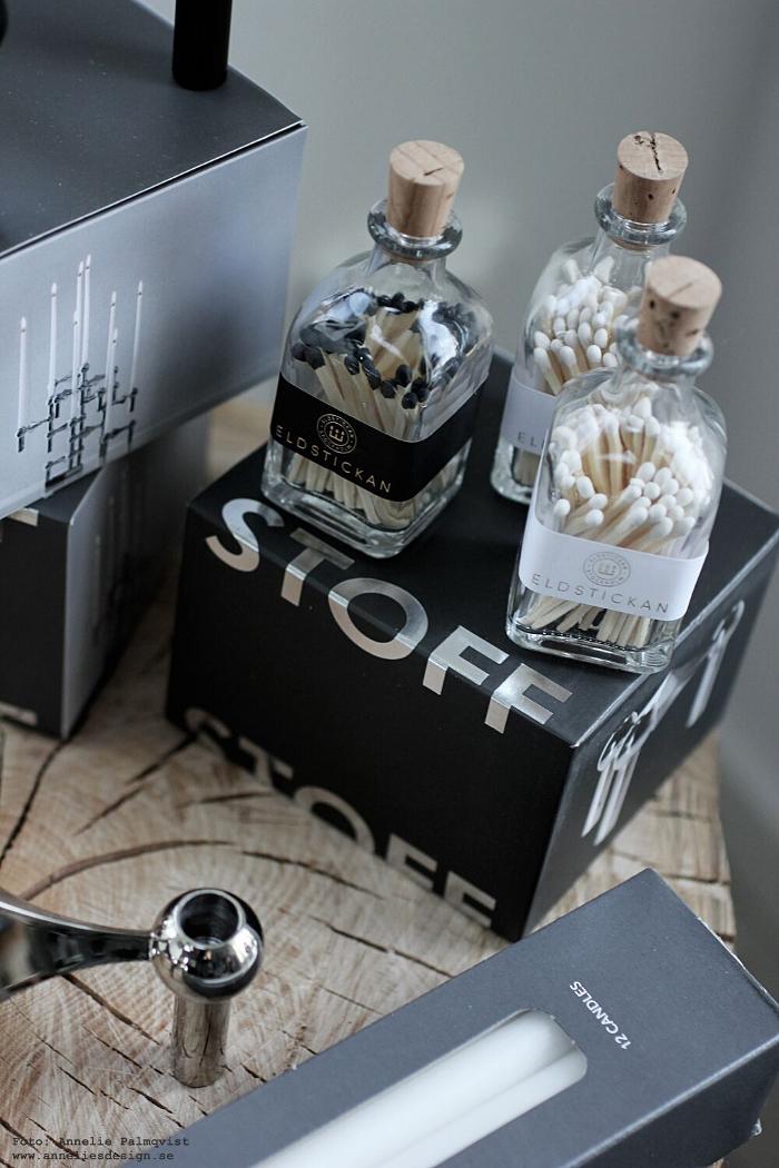 eldstickan, tändstickor i flaska, flaskor, tändsticka, inredning, annelies design, webbutik, webbutiker, webshop, nätbutik,