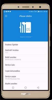 Method To Upgrade Your Tecno Phantom 6 Plus to Android 7.1.1 Nougat