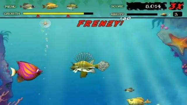 تحميل لعبة السمكة 2 feeding frenzy كاملة للكمبيوتر