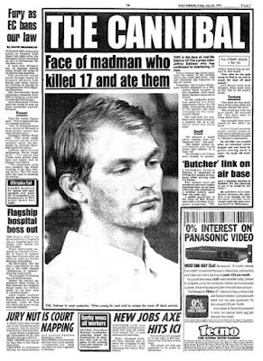 Jeffrey Dahmer newspaper headline
