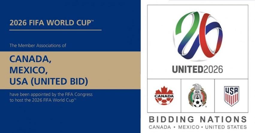 MUNDIAL 2026: Estados Unidos, México y Canadá organizarán el evento deportivo más grande del planeta