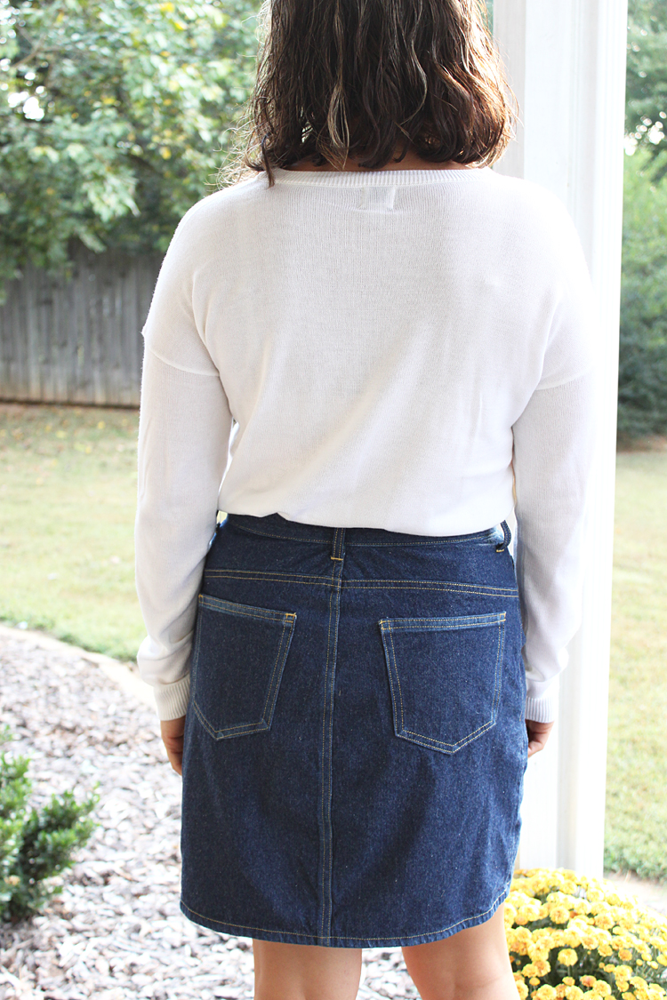 Danube Skirt Hack // Sewing For Women