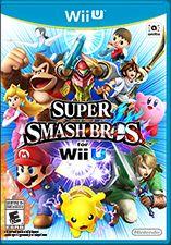 Estuche con el disco de Super Smash Bros.para Nintendo Wii, 2014