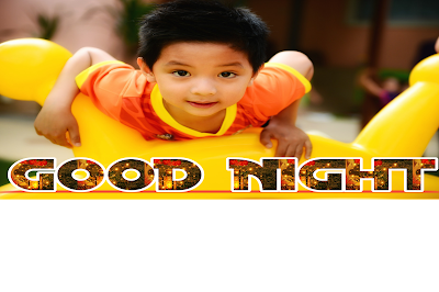 Good night girl image, good night cute baby image