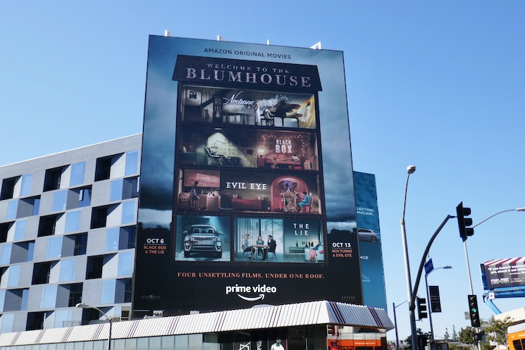 Welcome to the Blumhouse films billboard