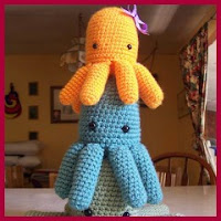 Pulpos a crochet