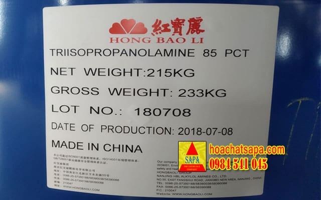 Phụ gia trợ nghiền xi măng - Triisopropanolamine (TIPA)